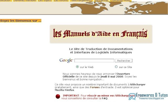 Le site du jour : Philou-Traductions.fr