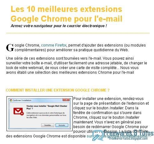 Les 10 Meilleures Extensions Google Chrome Pour L39