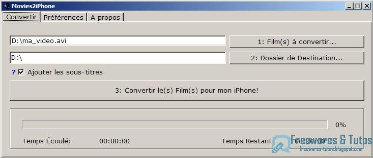 XP TÉLÉCHARGER MOVIES2IPHONE POUR WINDOWS