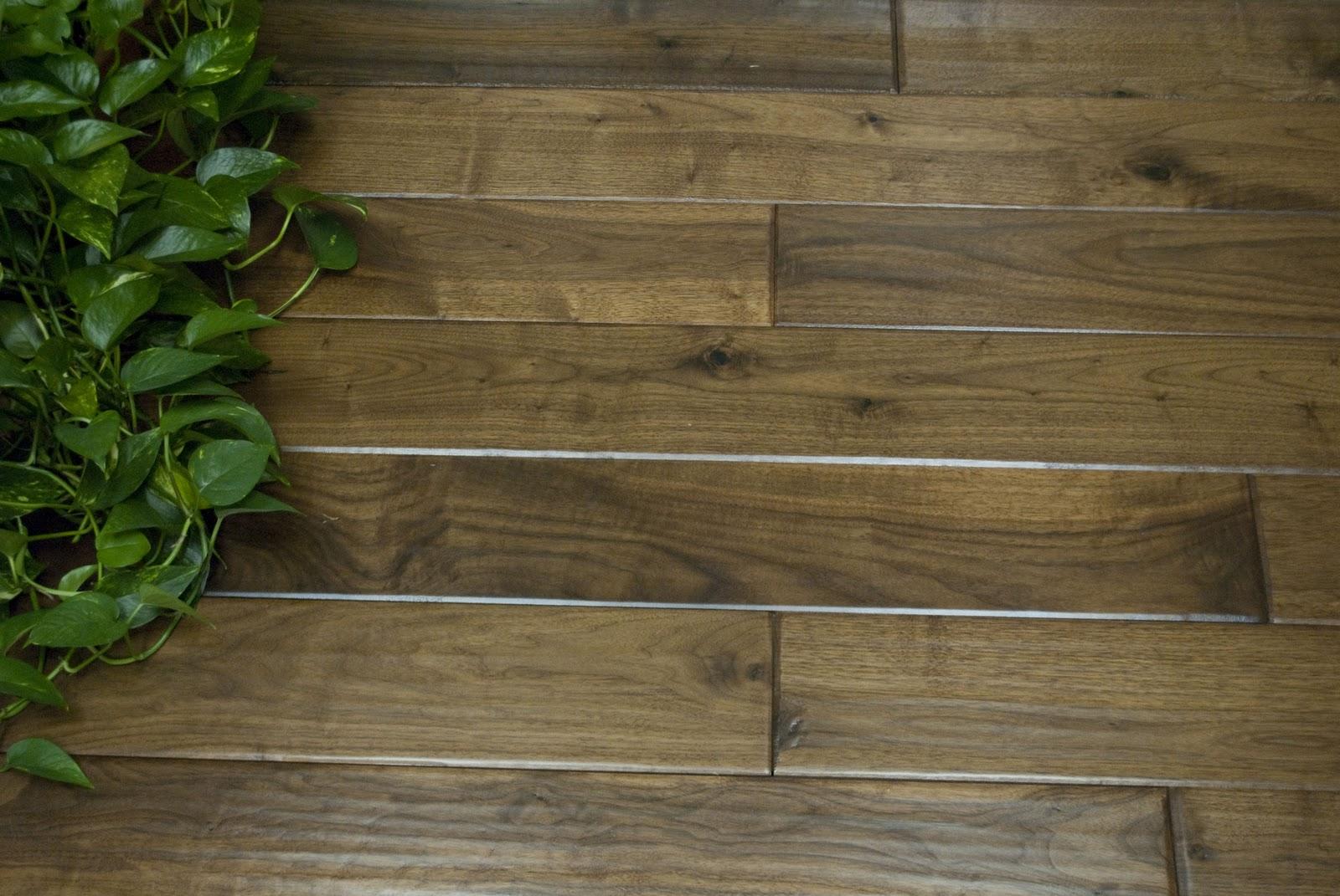 Shamrock Plank Flooring Our Handscraped Walnut 5