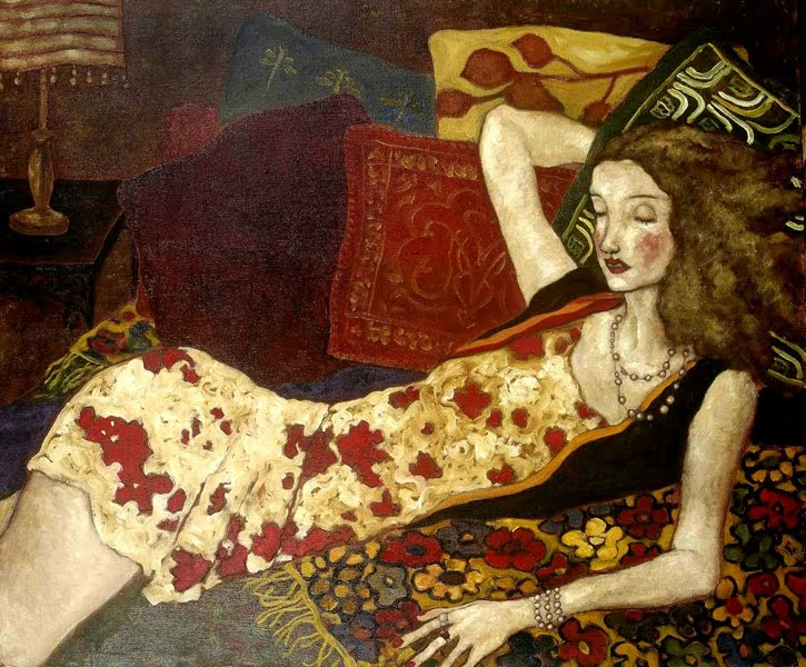 Women In Painting By Xi Pan Chinese Artist Blog Of An