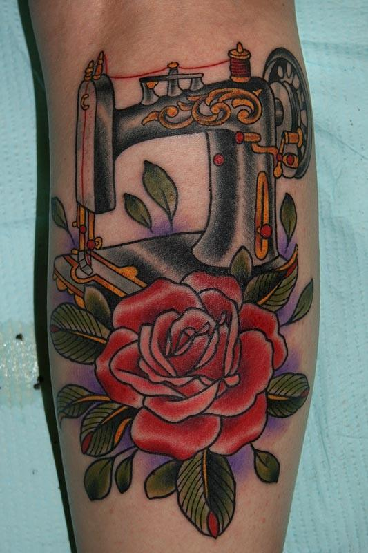 Tattoos By Stefan Johnsson Sewing Machine