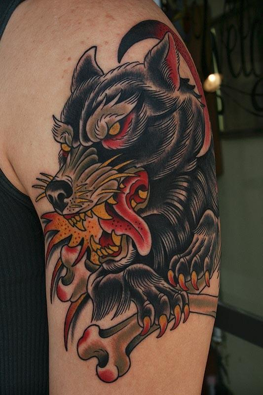 Tattoos By Stefan Johnsson Wolf