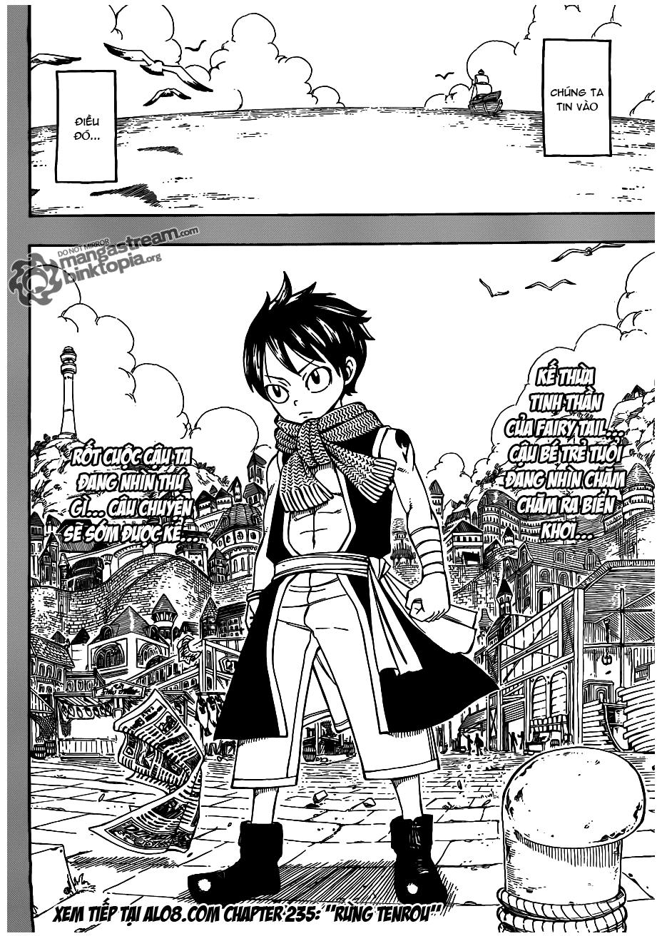 Fairy Tail chap 234 trang 19