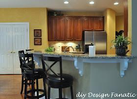 Diy Design Fanatic The Granite Countertops Are Finished