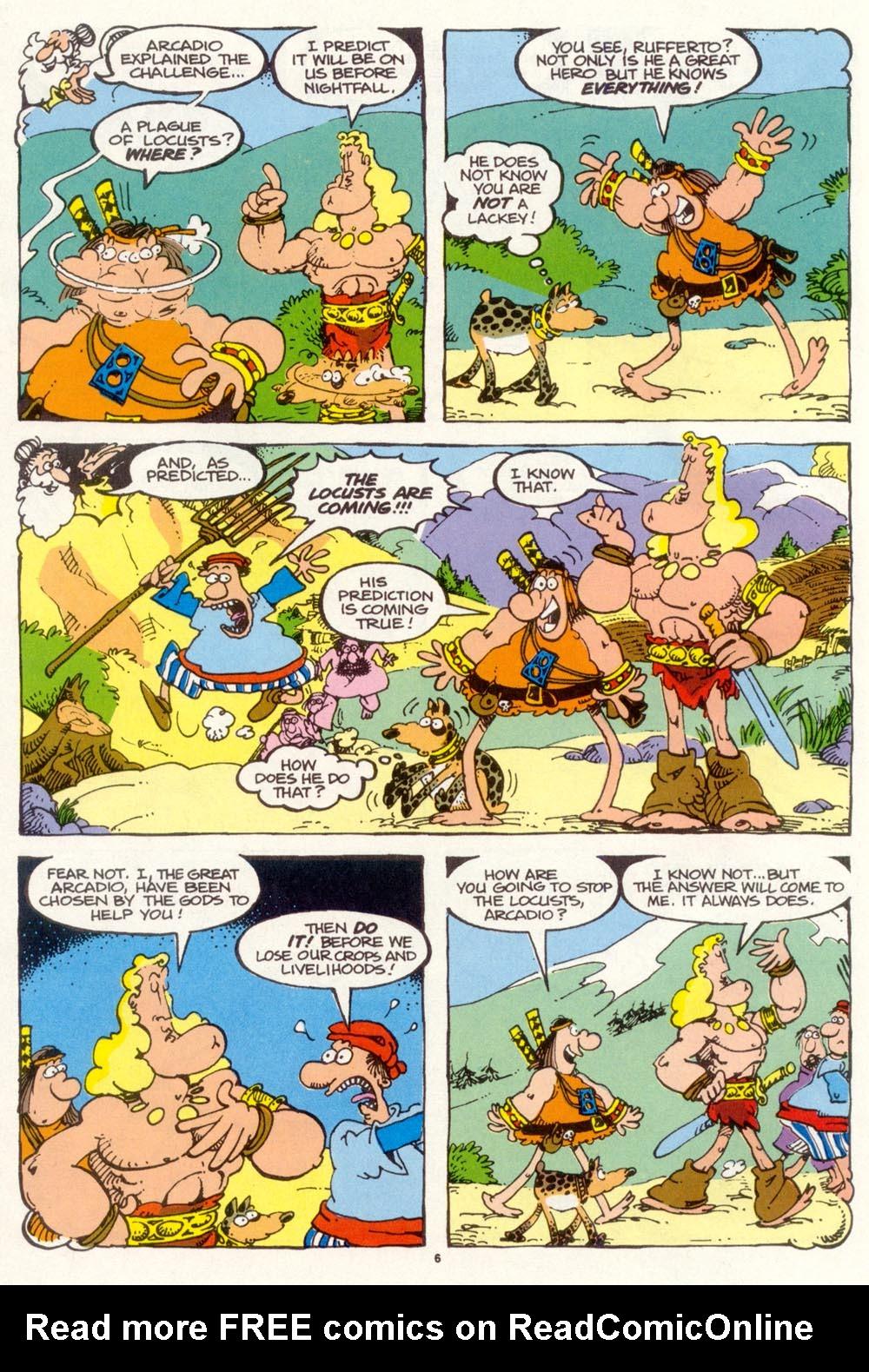 Read online Sergio Aragonés Groo the Wanderer comic -  Issue #97 - 7
