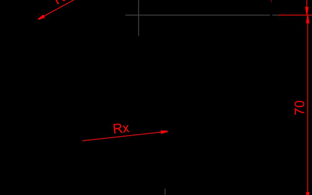 Engineering Drawing: Tangency Problem 06
