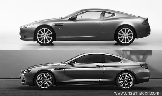 the business of design new bmw 6 series and aston martin db9 comparison. Black Bedroom Furniture Sets. Home Design Ideas