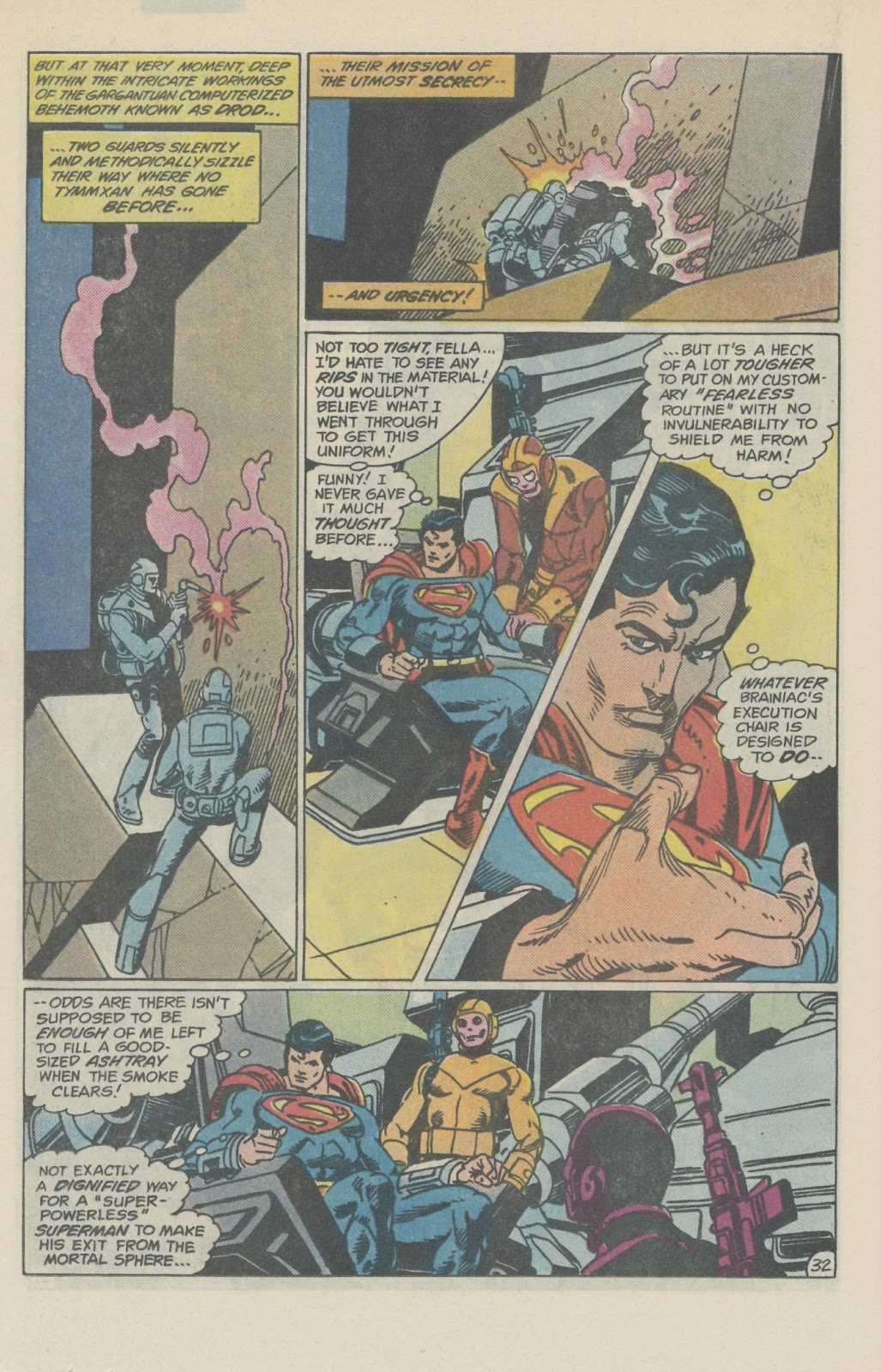 Read online Superman Special (1983) comic -  Issue #2 - 37