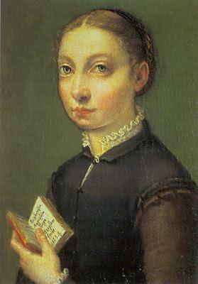 Sofonisba Anguissola, auto-portrait