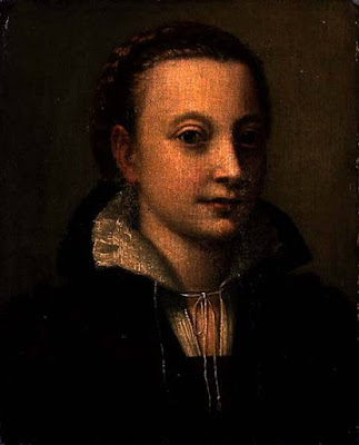Portrait de sa soeur Minerve, Lucia Anguissola