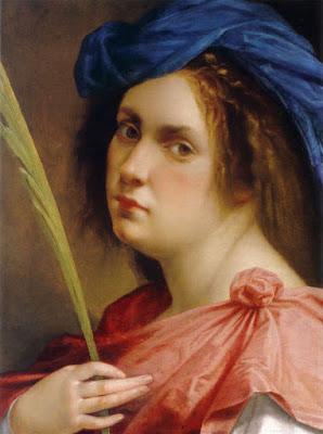 Artemisia Gentileschi, autoportrait (1615)