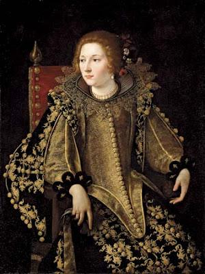 Artemisia Gentileschi, Dame assise de trois-quarts