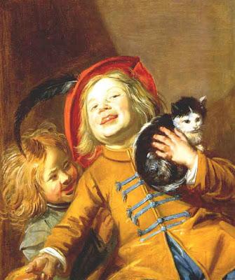 Judith Leyster, Deux enfants avec un chat