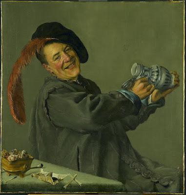 Judith Leyster, Le buveur joyeux (1629)