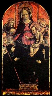 Vierge à l'Enfant (1485), Andriola de Barrachis