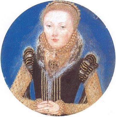 Miniature d'Elisabeth I (1565), Levina Teerlinc