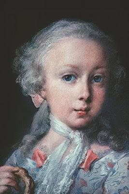 Jeune fille de la famille Leblond (1740), Rosalba Carriera