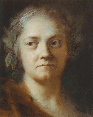 Autoportrait (1745), Rosalba Carriera