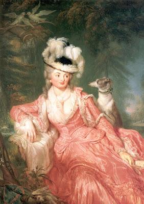 Portrait de Wilhelmine von Lichtenau (1776), Anna Dorothea Therbusch