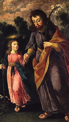 St. Joseph et l'enfant Jésus (1670), Josefa de Obidos