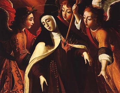 Ste. Thérèse transpercée (1672), Josefa de Obidos