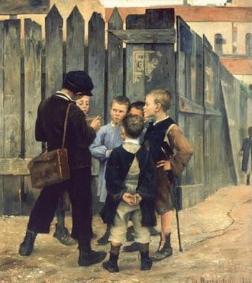 Le Meeting (1884), Marie Bashkirtseff