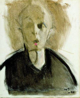 Autoportrait à la Tache Rouge (1903), Helene Schjerfbeck