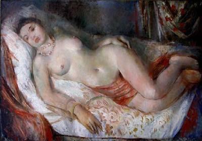 Nu Allongé (1925), Vera Rockline