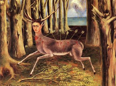 Le Cerf Blessé ou Le Petit Cerf ou Je Suis un Pauvre Cerf (1946), Frida Kahlo