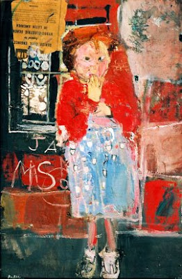 Little Girl with a Squint, Joan Eardley
