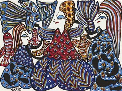 Sans titre (1992), Baya