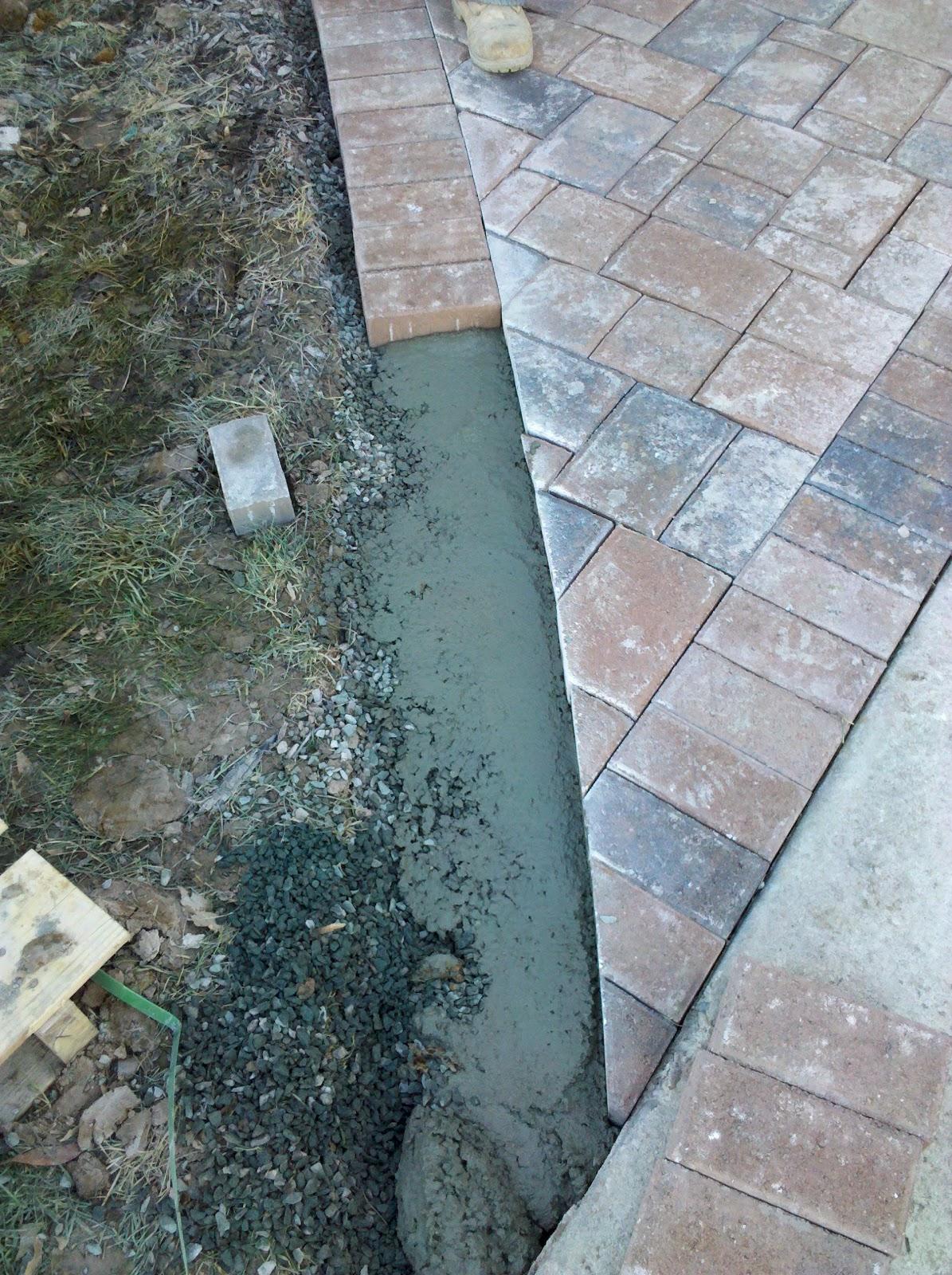 Concrete Patio Edge Ideas: Life Time Pavers: Concrete Edge Restraint For Pavers