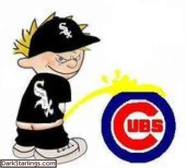 Chicago cubs peeing