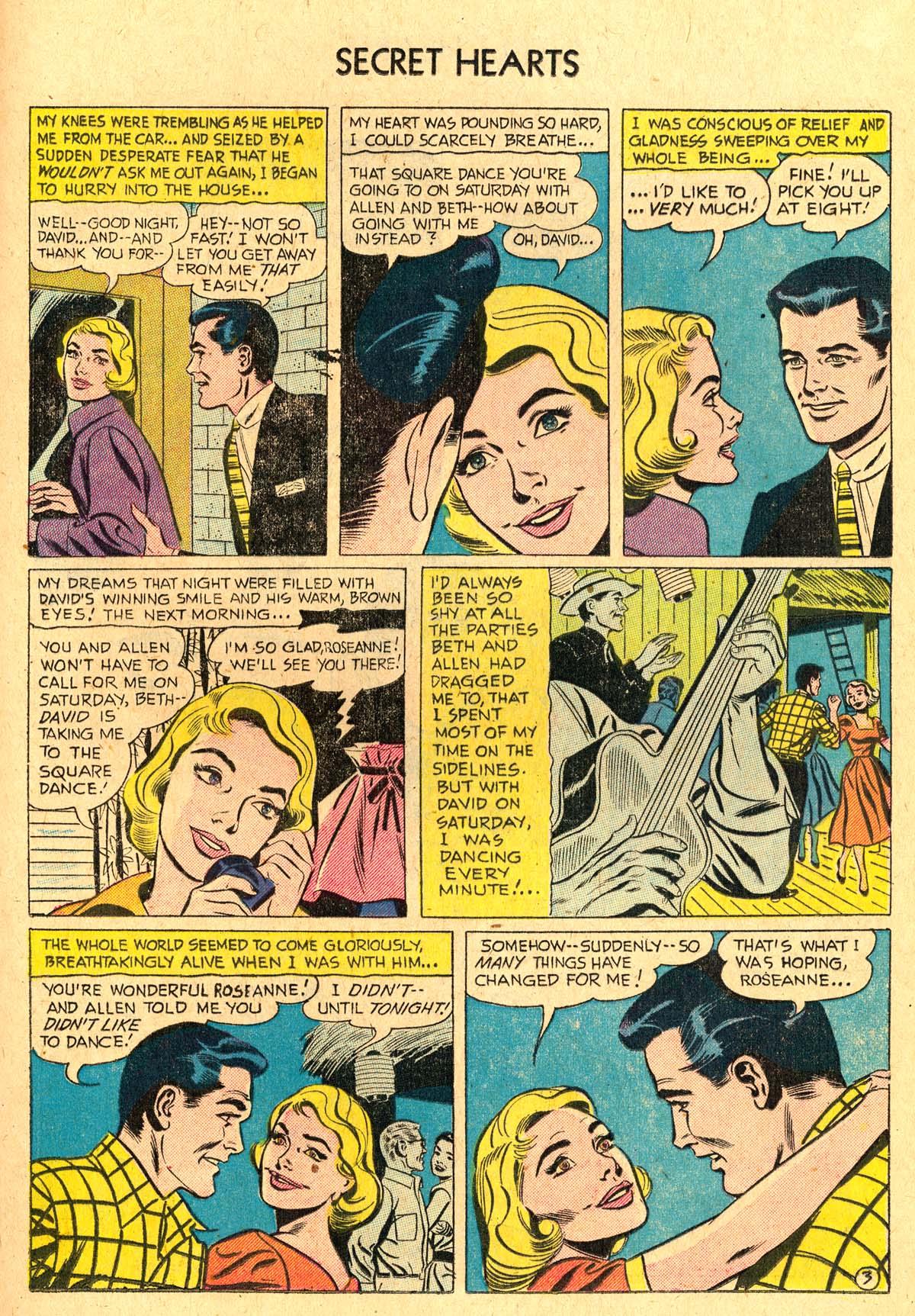 Read online Secret Hearts comic -  Issue #36 - 21