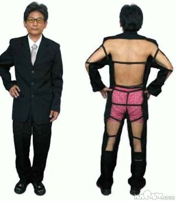 japan funny suit