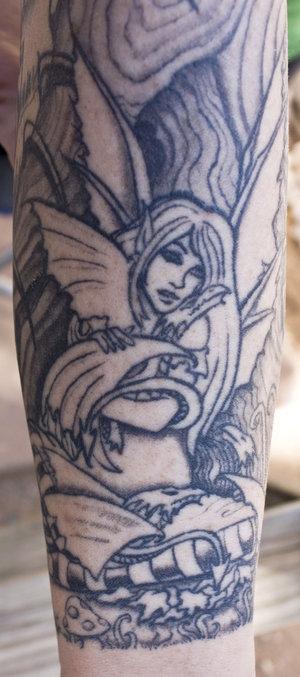 us 666: audrina patridge tattoo on back