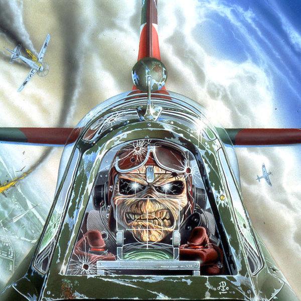 Aces High on Iron Maiden Eddie