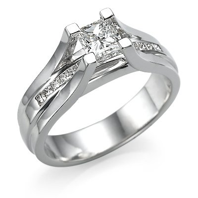 Princess Cut Engagement Ring Amazon
