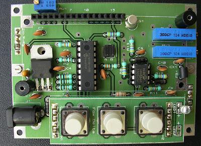 Tehnik Service » SWR Meter with Pic16F88