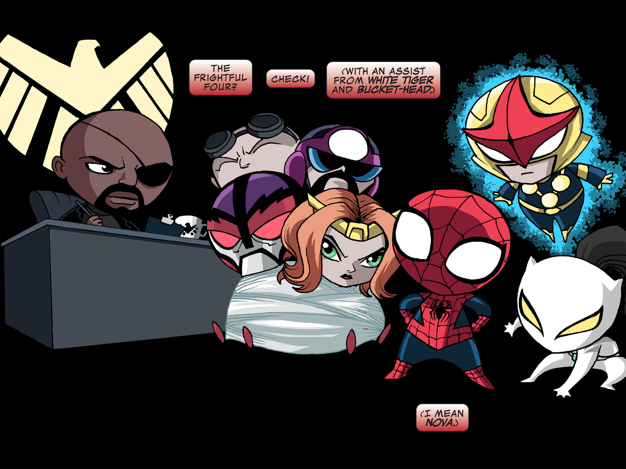 Read online Ultimate Spider-Man (Infinite Comics) (2015) comic -  Issue #12 - 17