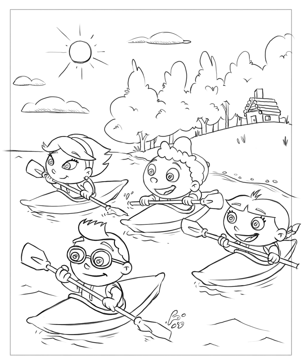 little einsteins online coloring pages - photo #16