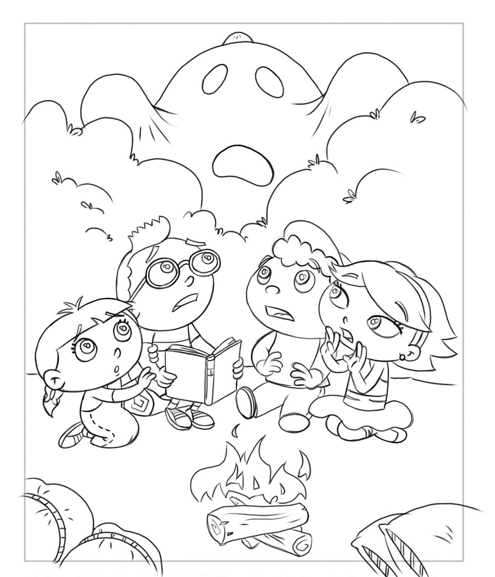 Frank Summers Animation: Little Einsteins Coloring Book