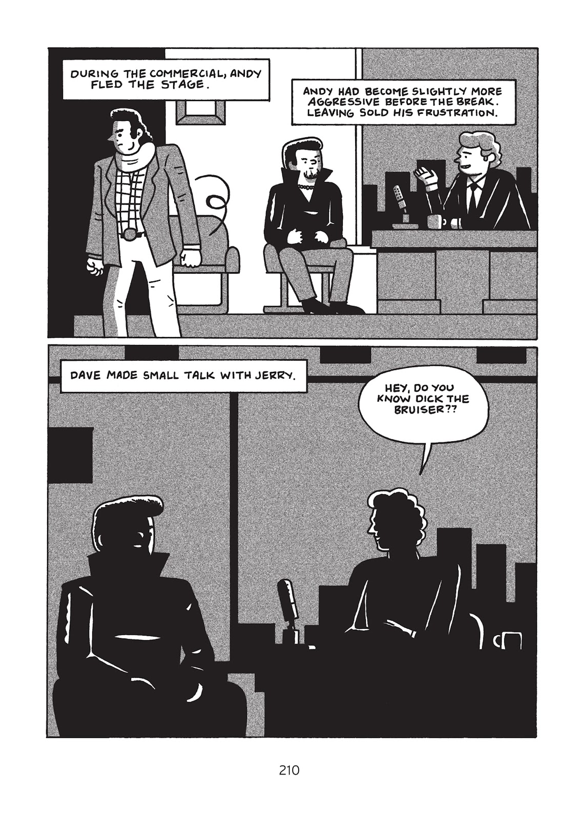 Read online Is This Guy For Real?: The Unbelievable Andy Kaufman comic -  Issue # TPB (Part 3) - 15