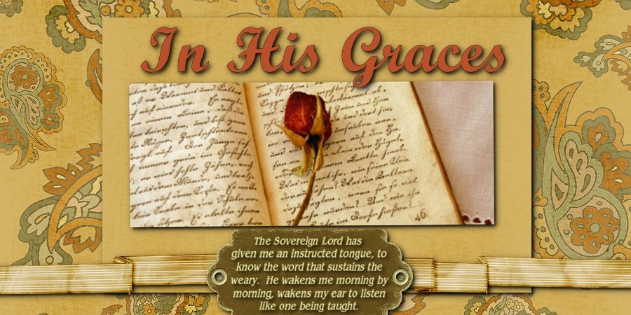 In His Graces