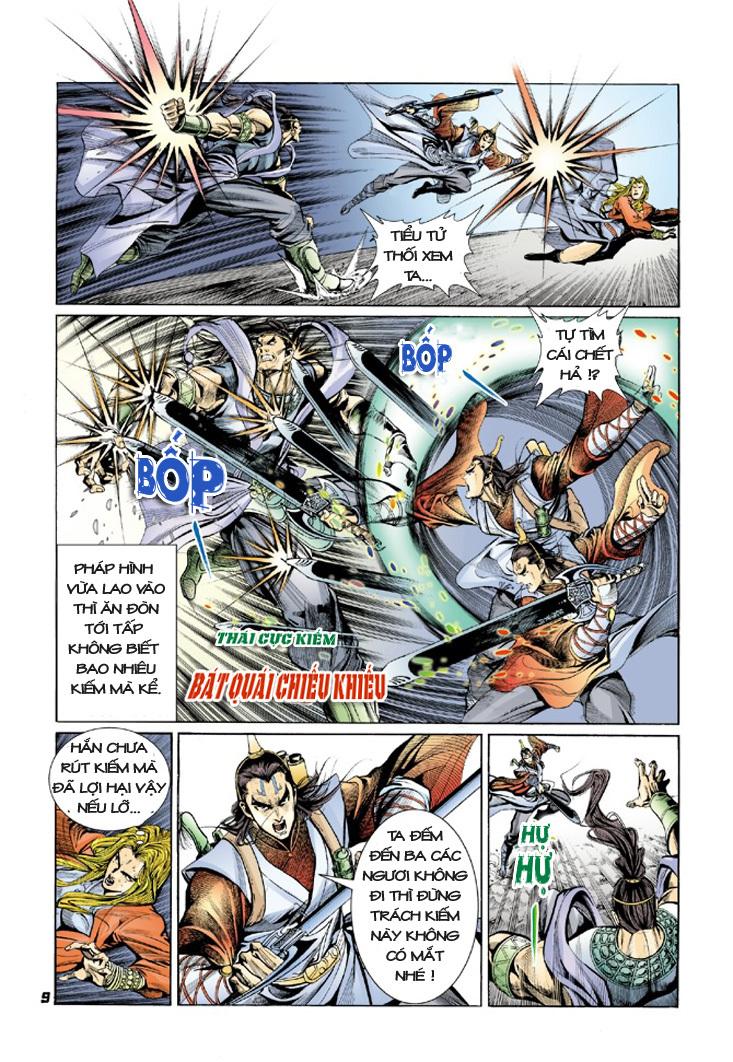 Đại Đường Uy Long chapter 9 trang 9