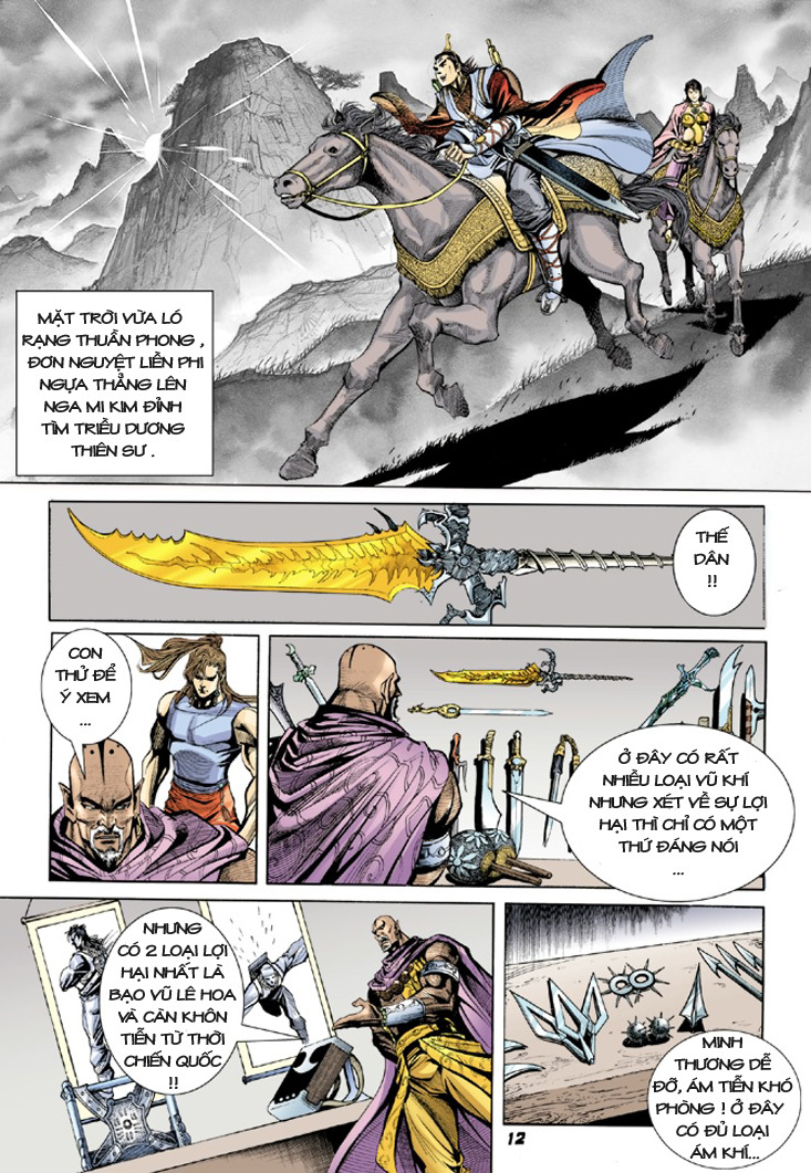 Đại Đường Uy Long chapter 9 trang 12