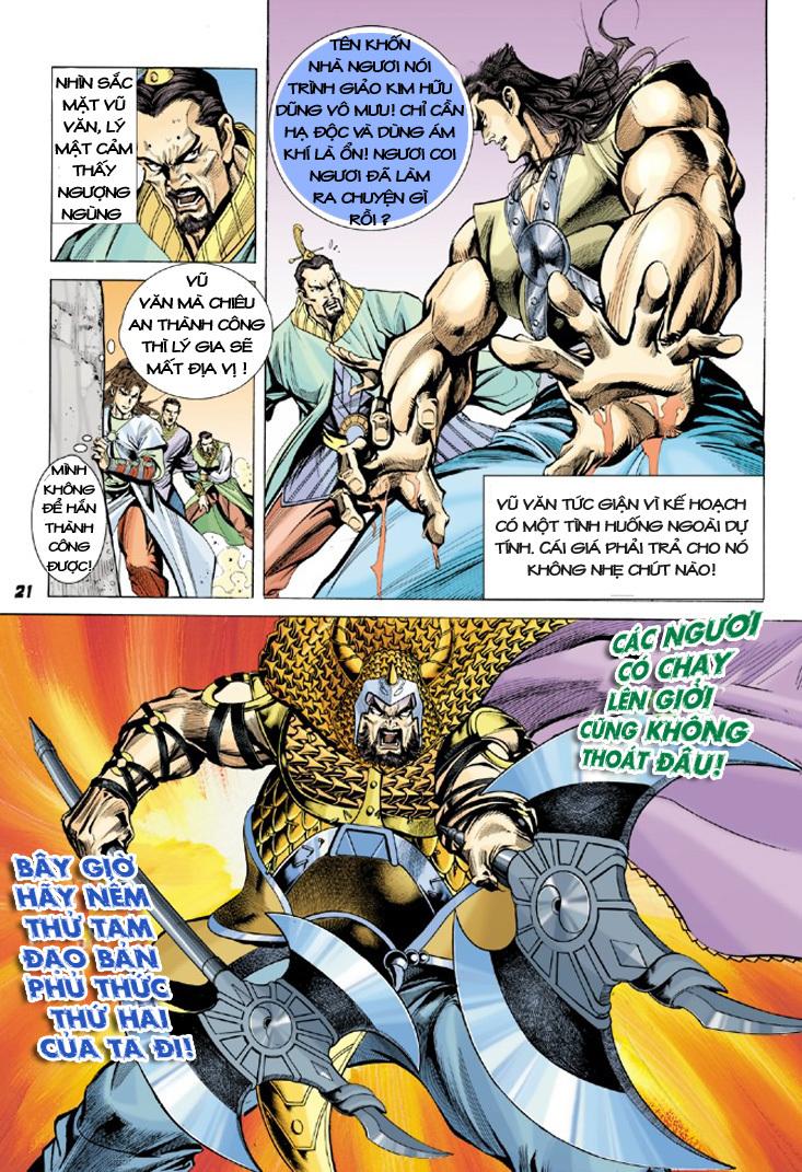 Đại Đường Uy Long chapter 9 trang 21