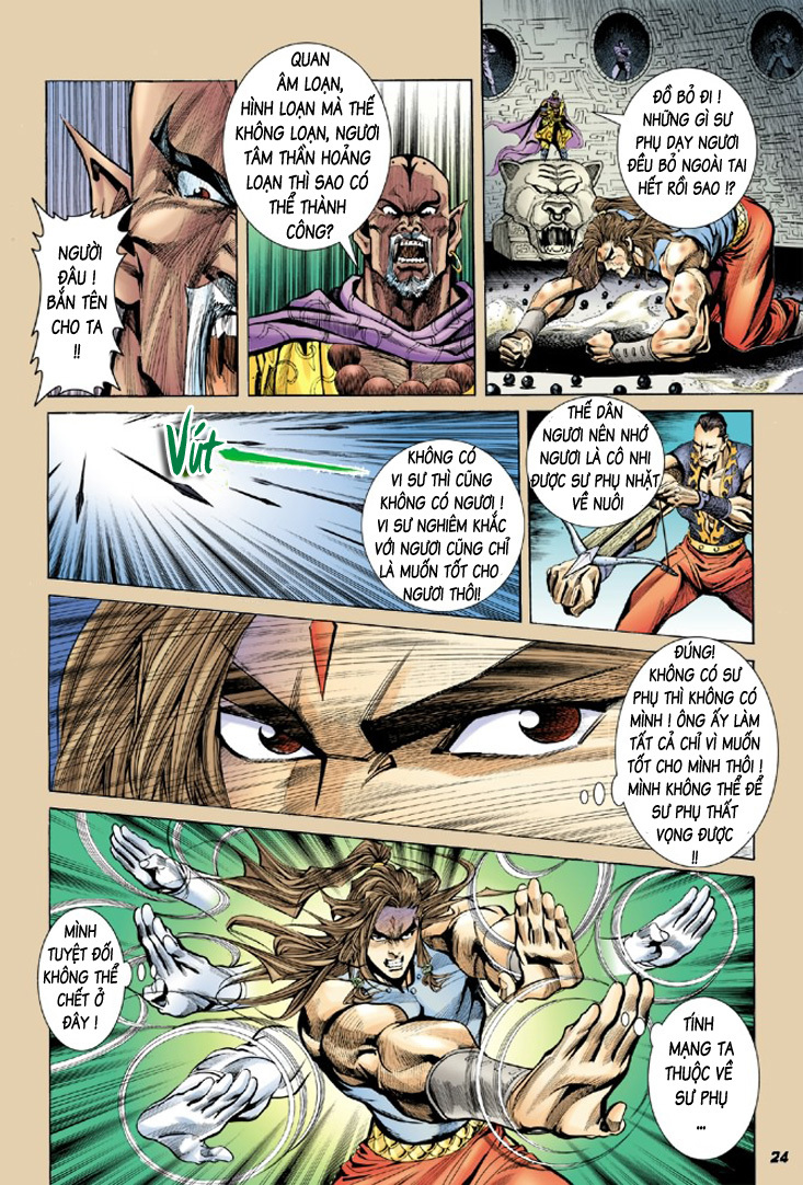 Đại Đường Uy Long chapter 10 trang 21