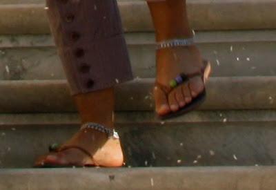 piedi scalzi... o quasi